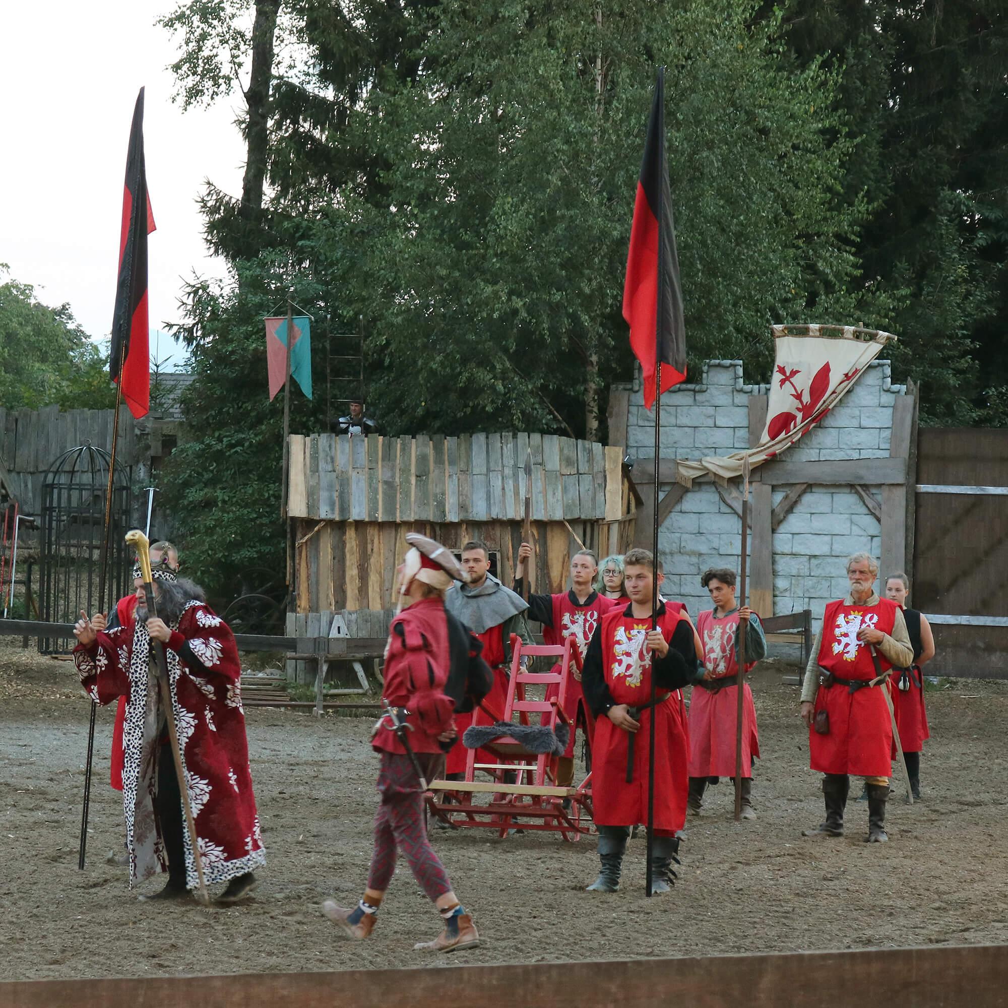 Ritterspielen Burg Sommeregg Treffling Seeboden